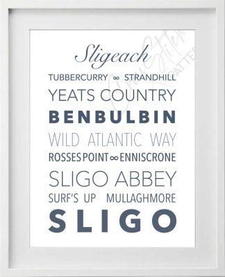 Sligo Irish Counties Printable