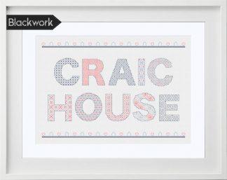 Craic House Blackwork Pattern